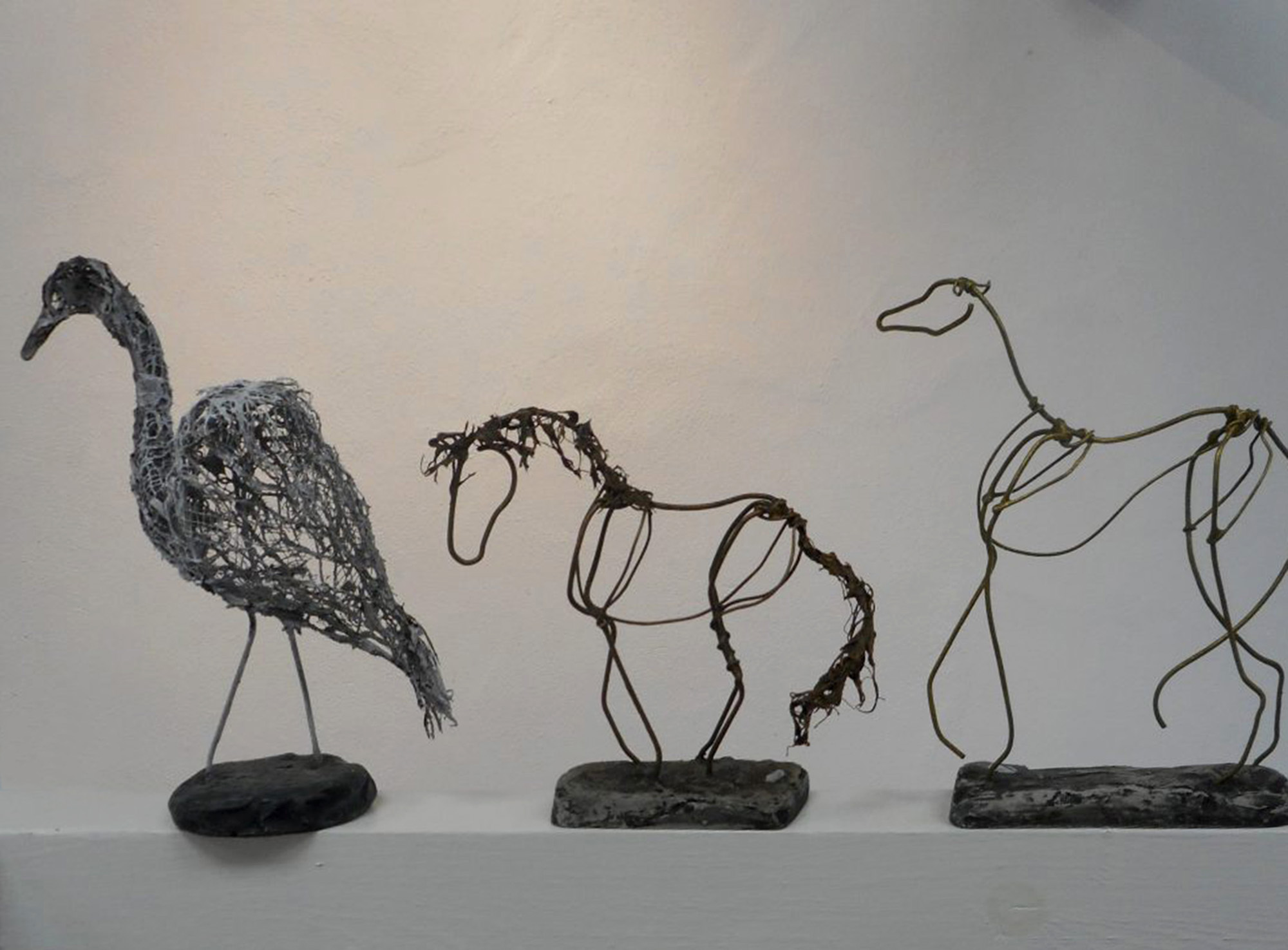 Wire animals